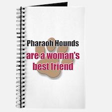 Pharaoh Hounds woman's best friend Journal