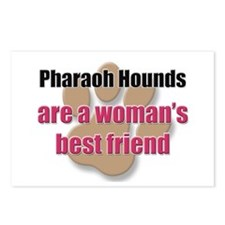 Pharaoh Hounds woman's best friend Postcards (Pack