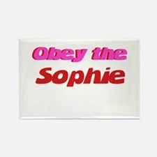 Obey the Sophie Rectangle Magnet