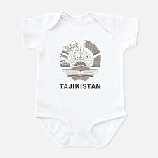 Vintage Tajikistan Infant Bodysuit