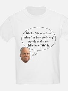 "McCain on ""The"" Surge T-Shirt"