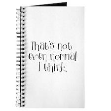Not Normal Journal