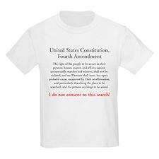 Fourth Amendment Kids T-Shirt