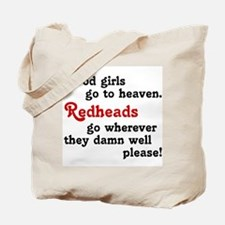 Goodgirls & Redheads Tote Bag