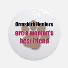 Ormskirk Heelers woman's best friend Ornament (Rou