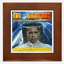 Dr. Nobama Framed Tile
