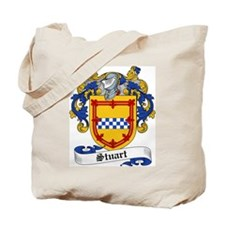 Stuart Family Crest Tote Bag