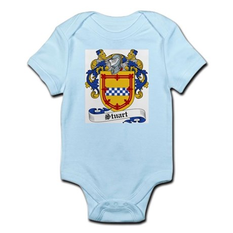 Stuart Family Crest Infant Creeper