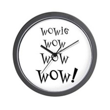 Wowie Wow! Wall Clock