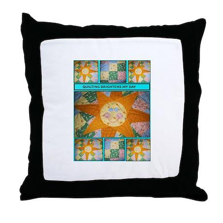 Sunshine Susan Throw Pillow