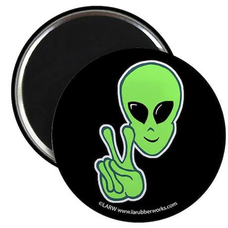 "Peace Alien 2.25"" Magnet (100 pack)"