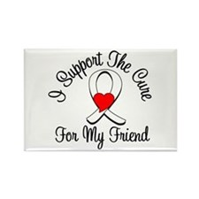 Lung Cancer (Friend) Rectangle Magnet