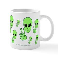 Peace Alien Mug