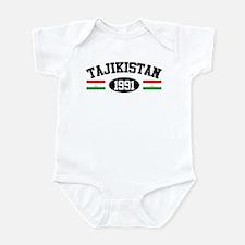 Tajikistan 1991 Infant Bodysuit