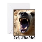 Yeh, Bite Me Greeting Card