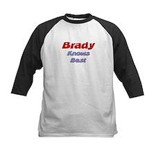 Brady Knows Best Tee