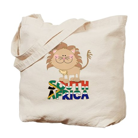 South Africa Lion Tote Bag