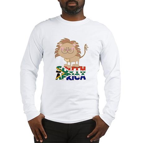 South Africa Lion Long Sleeve T-Shirt