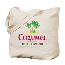 Cozumel Therapy - Tote or Beach Bag