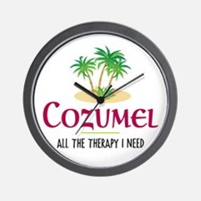 Cozumel Therapy - Wall Clock