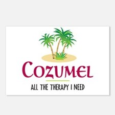 Cozumel Therapy - Postcards (Package of 8)