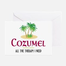 Cozumel Therapy - Greeting Cards (Pk of 20)