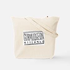 Unique Curmudgeon alliance Tote Bag