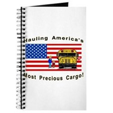 Cute School bus driver Journal