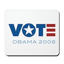 VOTE Obama 2008 Mousepad
