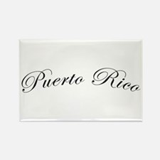 Puerto Rico Rectangle Magnet