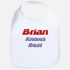 Brian Knows Best Bib