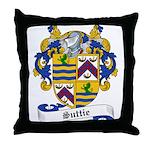 Suttie Family Crest Throw Pillow