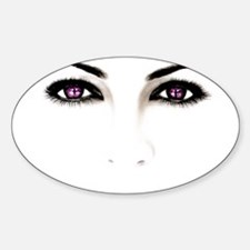 Eyes Oval Decal