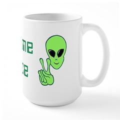 WeComeInPeace Mug