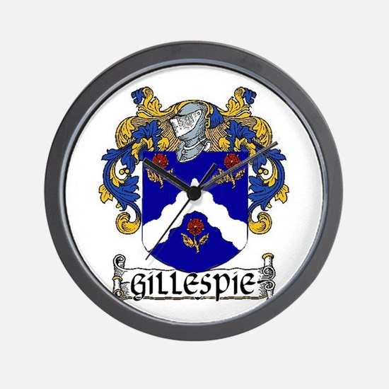 Gillespie Arms Wall Clock