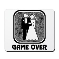 Wedding: Game Over Mousepad