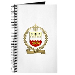 TERRIO Family Crest Journal