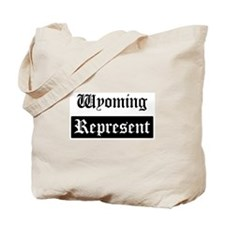 Wyoming - Represent Tote Bag