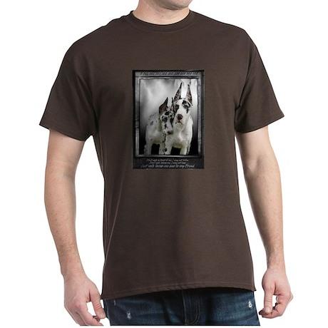 Friendship :: Great Danes Dark T-Shirt