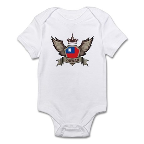 Taiwan Emblem Infant Bodysuit