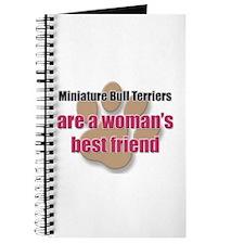 Miniature Bull Terriers woman's best friend Journa