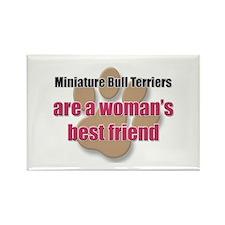 Miniature Bull Terriers woman's best friend Rectan