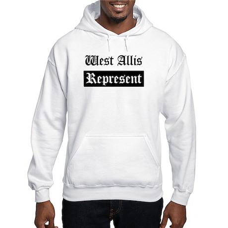 West Allis - Represent Hooded Sweatshirt