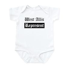 West Allis - Represent Infant Bodysuit