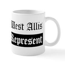 West Allis - Represent Mug