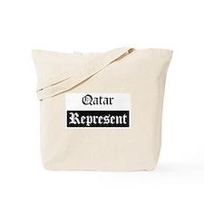 Qatar - Represent Tote Bag