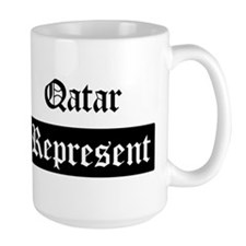 Qatar - Represent Mug