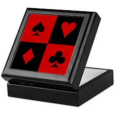 Card Player Keepsake Box