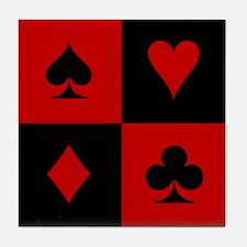 Card Player Tile Coaster