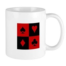 Card Player Small Mug